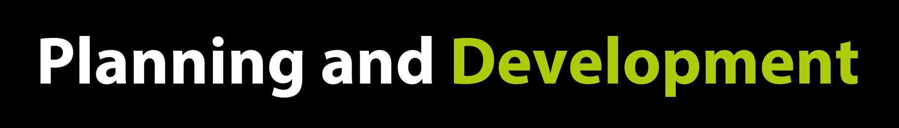 Plannign-and-Devlopment-Title